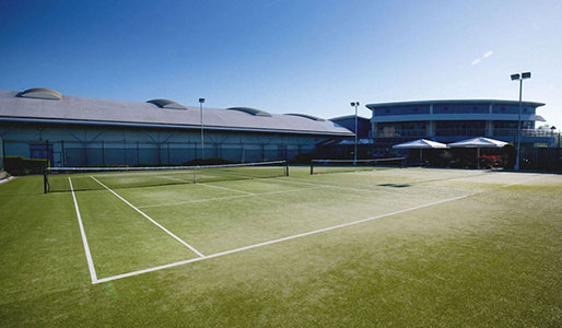 Milton Keynes Outdoor tennis court
