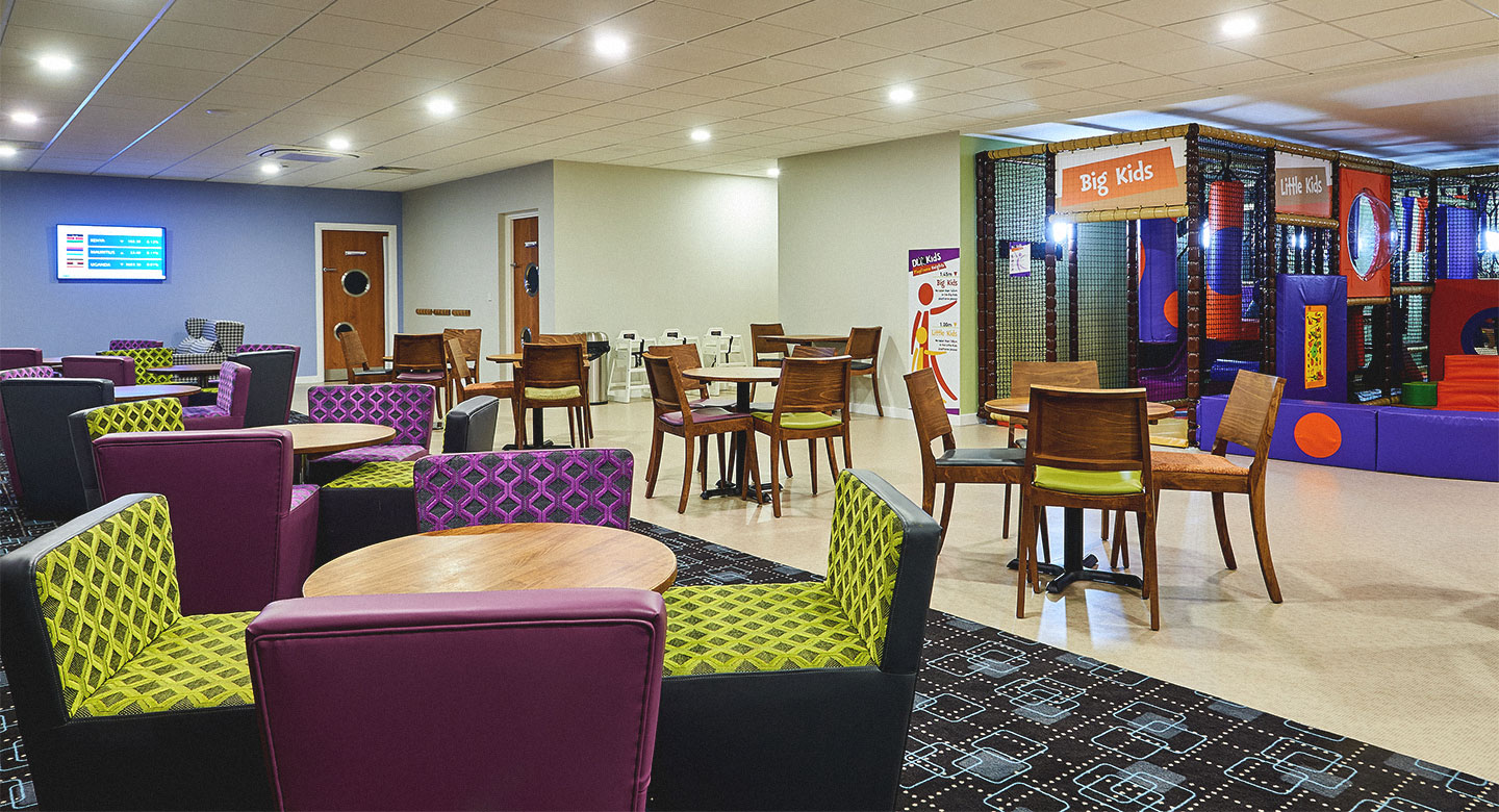 David Lloyd Purley Kids area