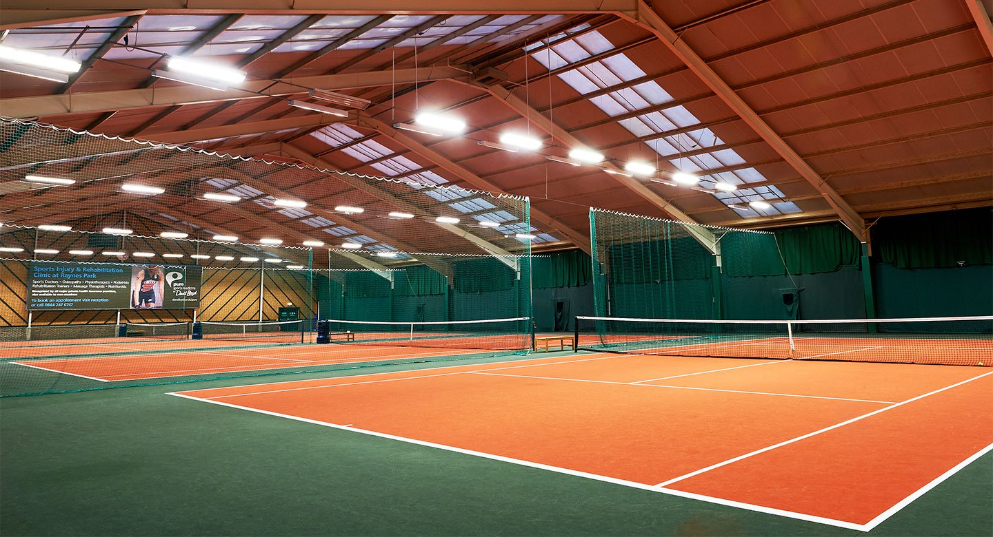 Raynes Park indoor tennis courts