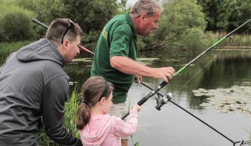 David Lloyd Ringwood Family Fishing