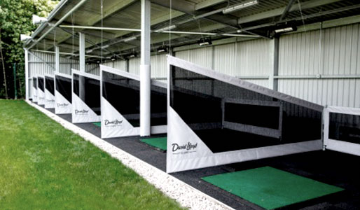 Image of the driving range at David Lloyd Glasgow Rouken Glen