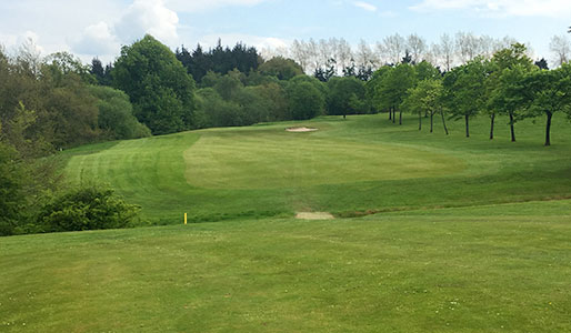 Golf course at David Lloyd Glasgow Rouken Glen - view down a fairway