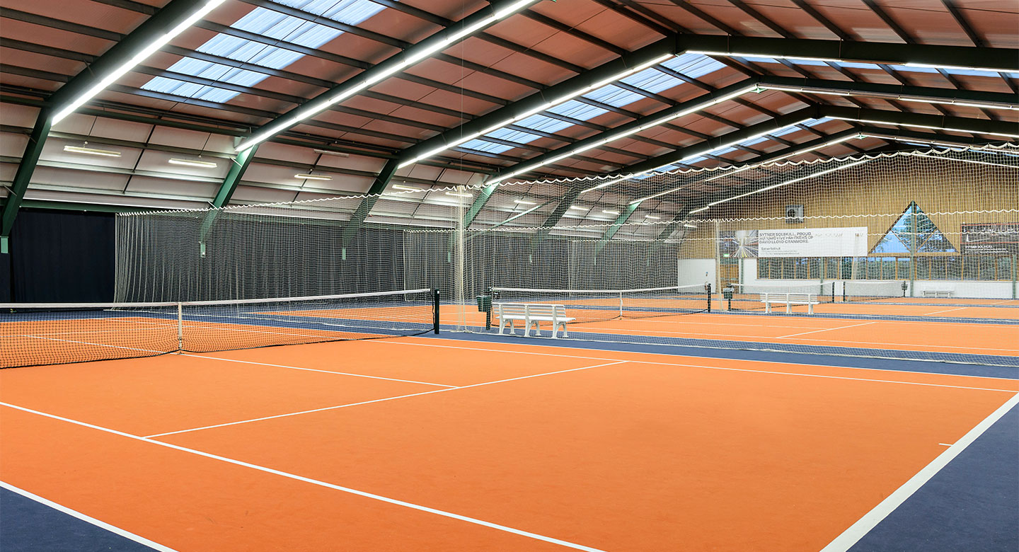 Solihull Cranmore indoor tennis courts