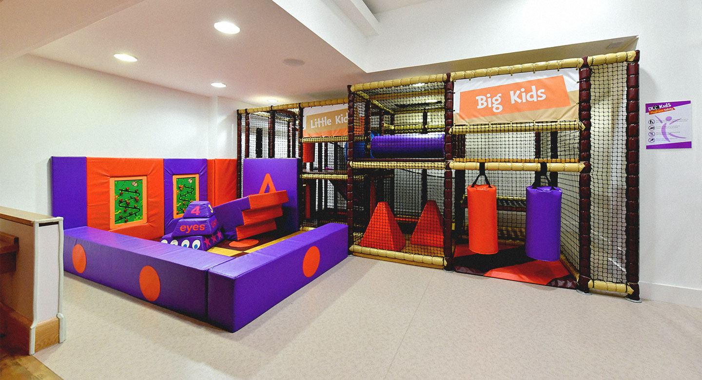 David Lloyd Clubs Southampton West End Kids area
