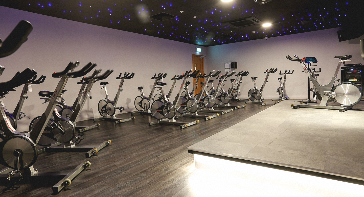 David Lloyd Liverpool Speke Group cycling