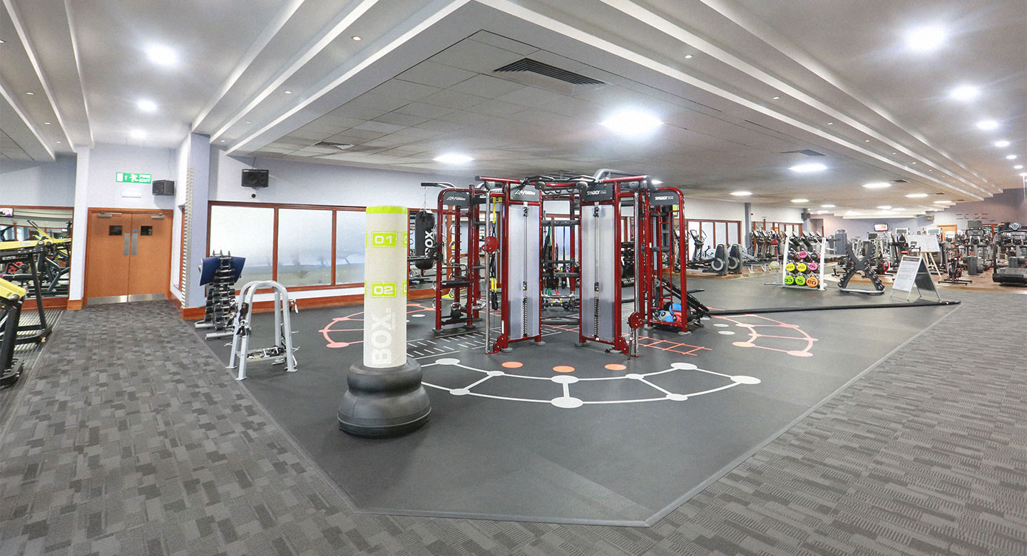 David Lloyd Warrington Gym
