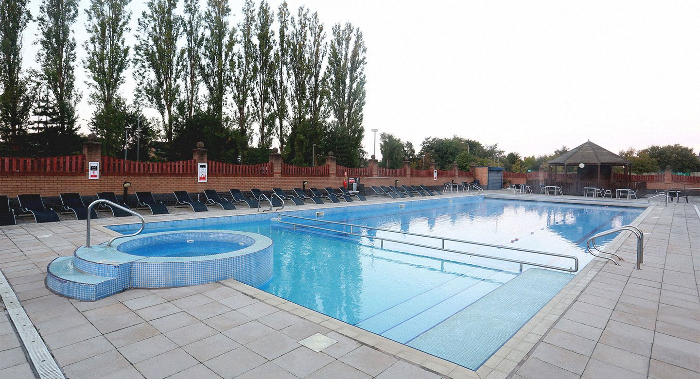 David Lloyd Warrington Outdoor pool