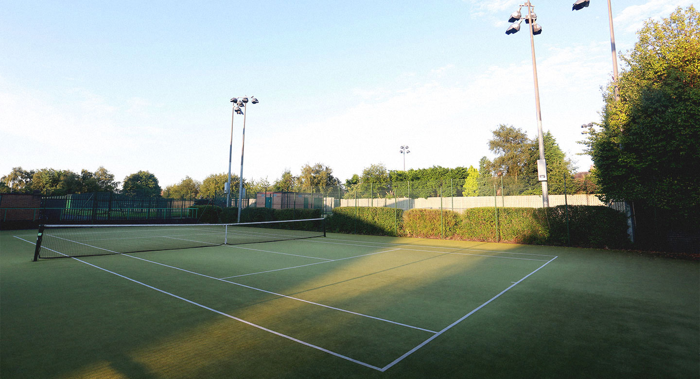 David Lloyd Warrington Outdoor tennis