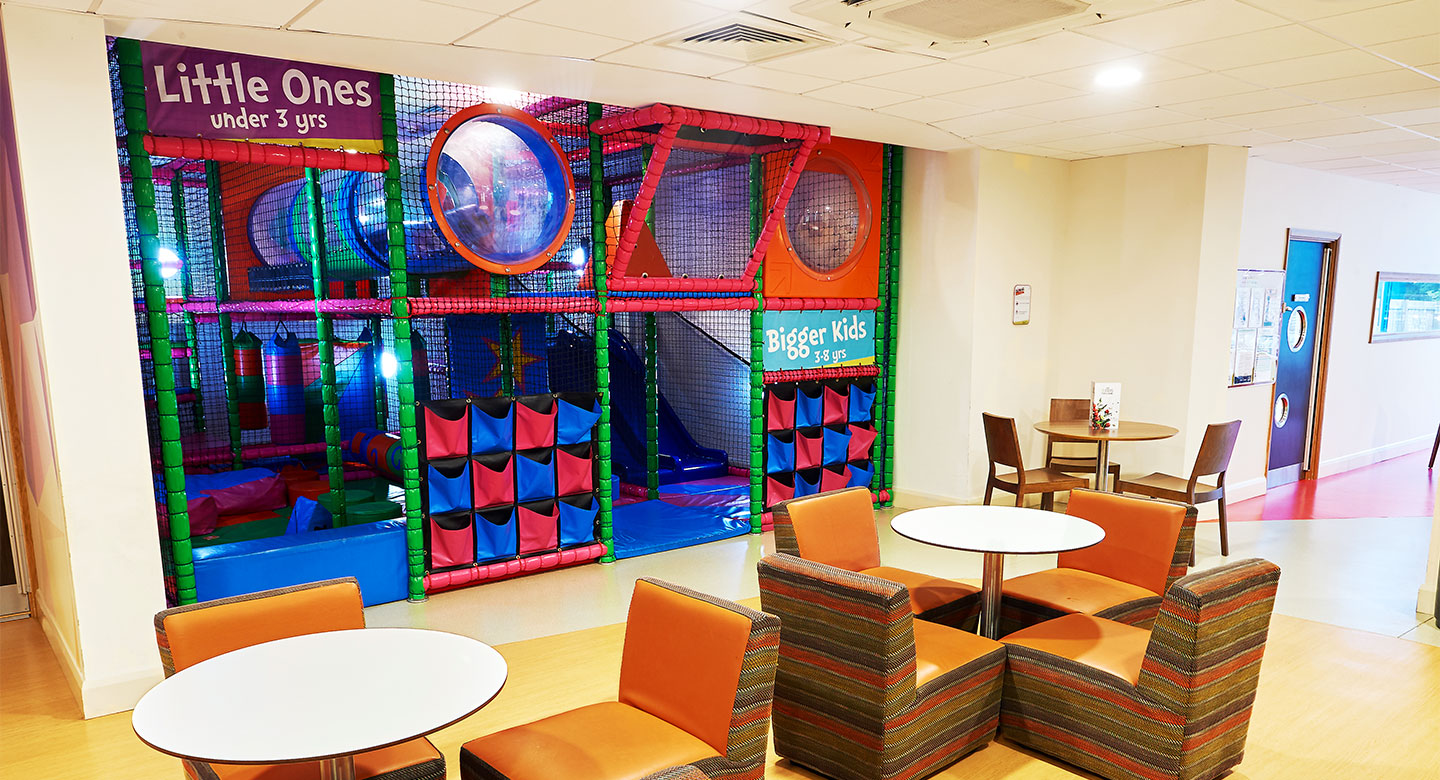 David Lloyd Weybridge Brooklands DL Kids area