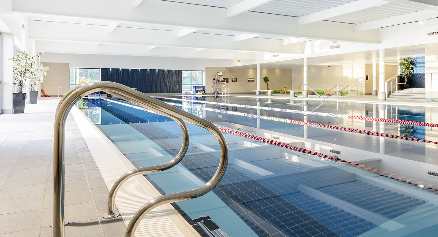 David Lloyd Worcester indoor pool
