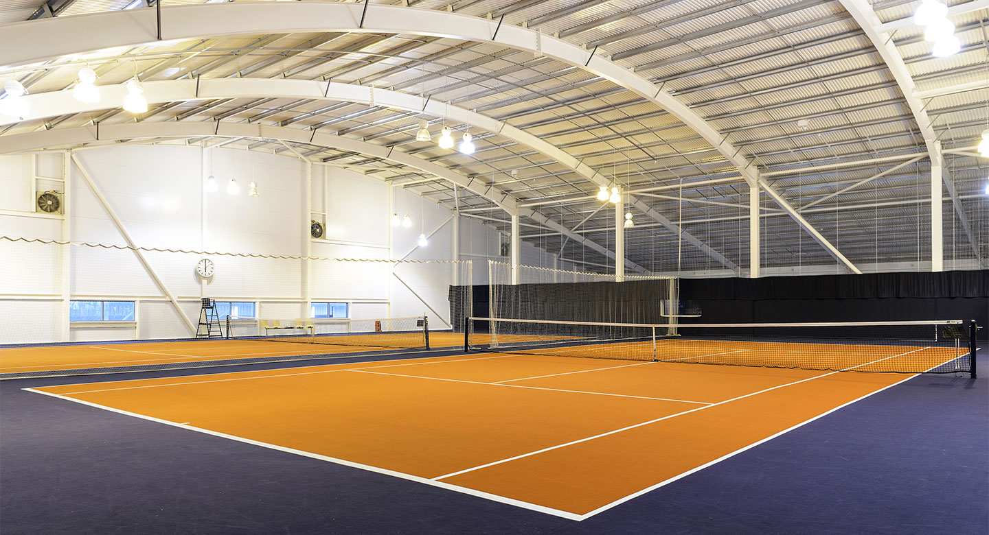 David Lloyd Worcester indoor tennis
