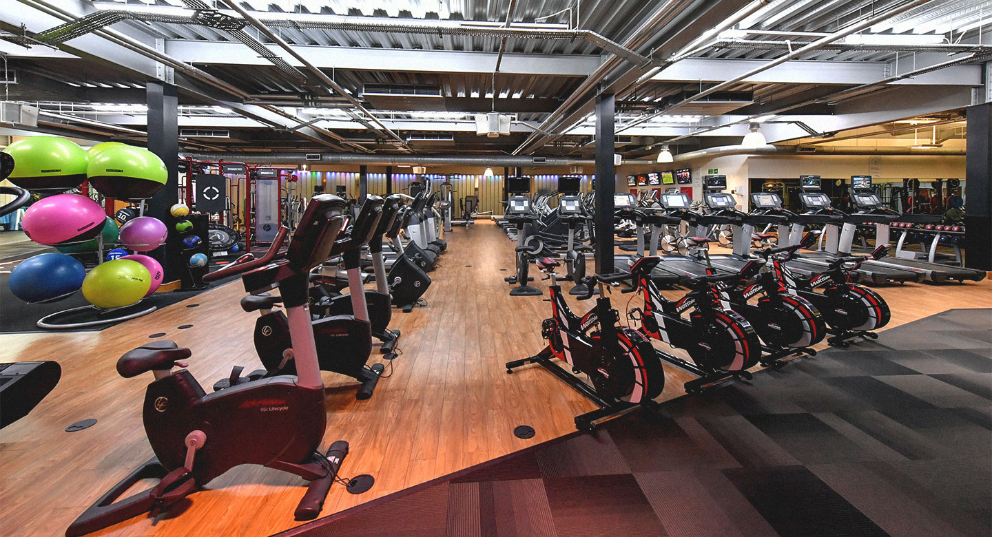 David Lloyd Worthing gym