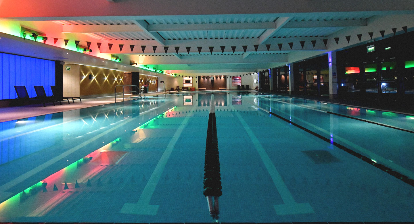 David Lloyd Worthing indoor pool