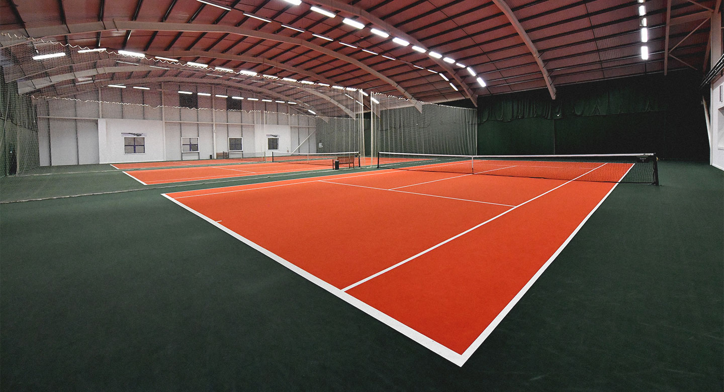David Lloyd Worthing indoor tennis