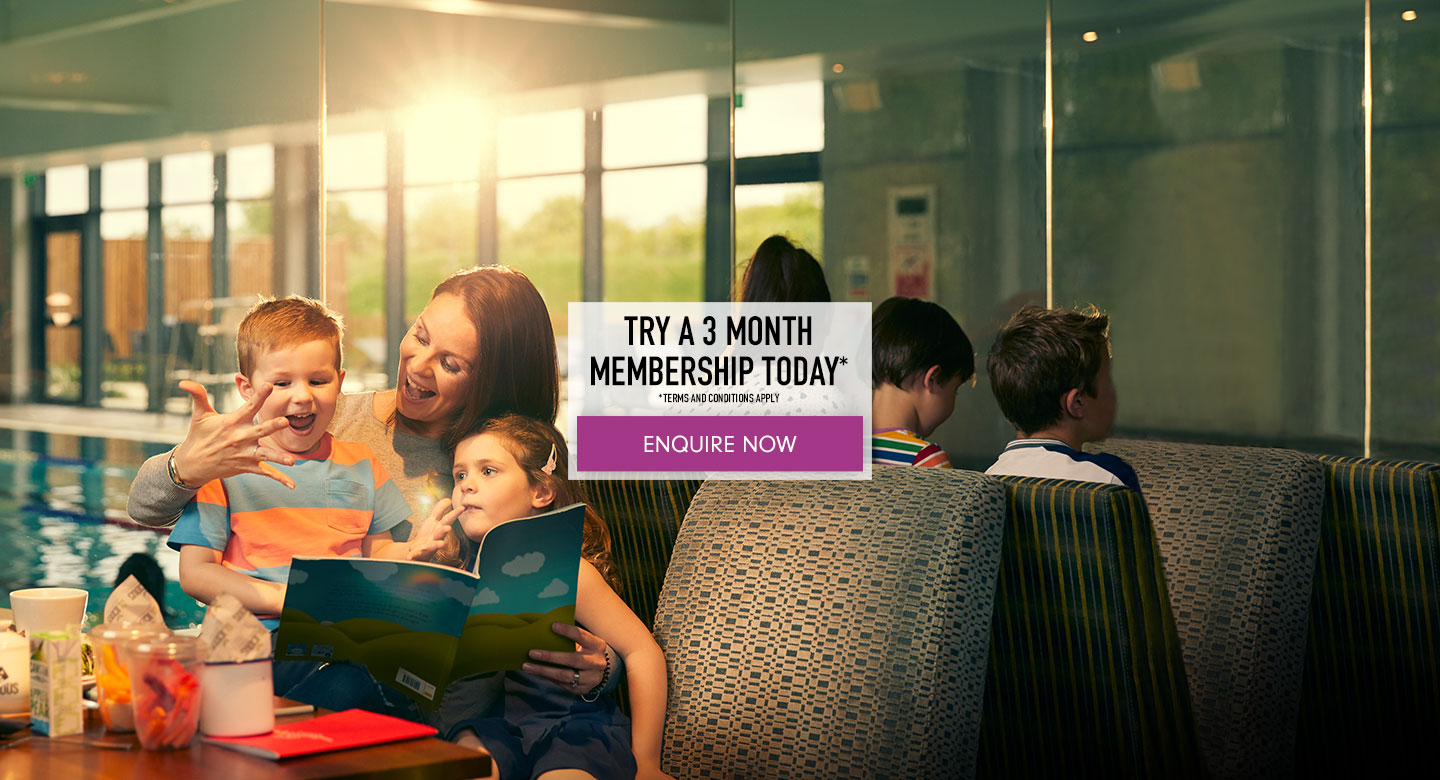 Try a 3 month membership*