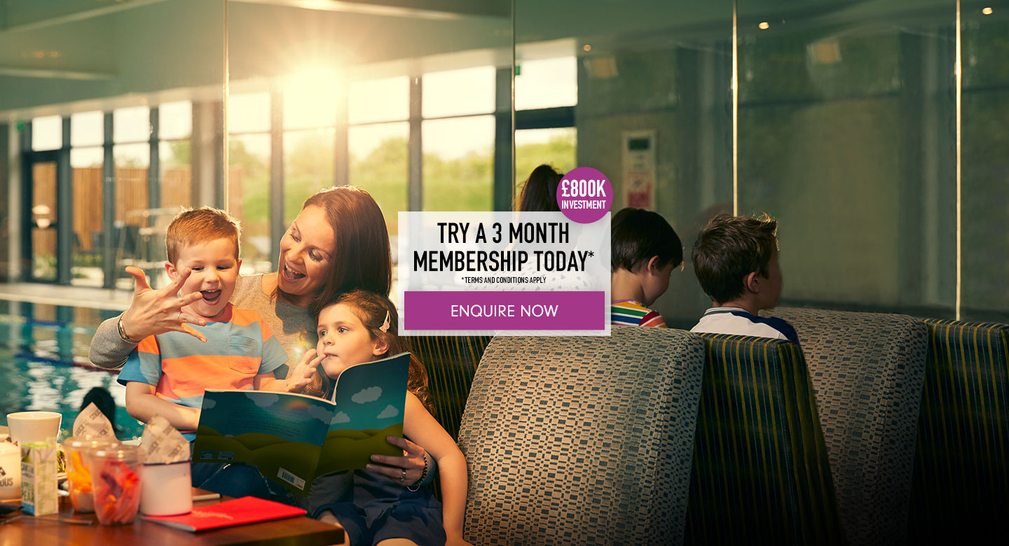 Try a 3 month membership