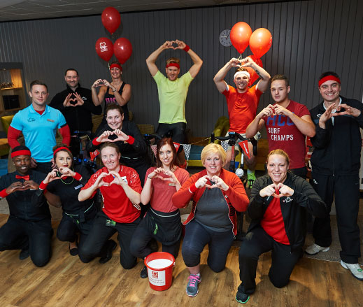 BHF charity picture