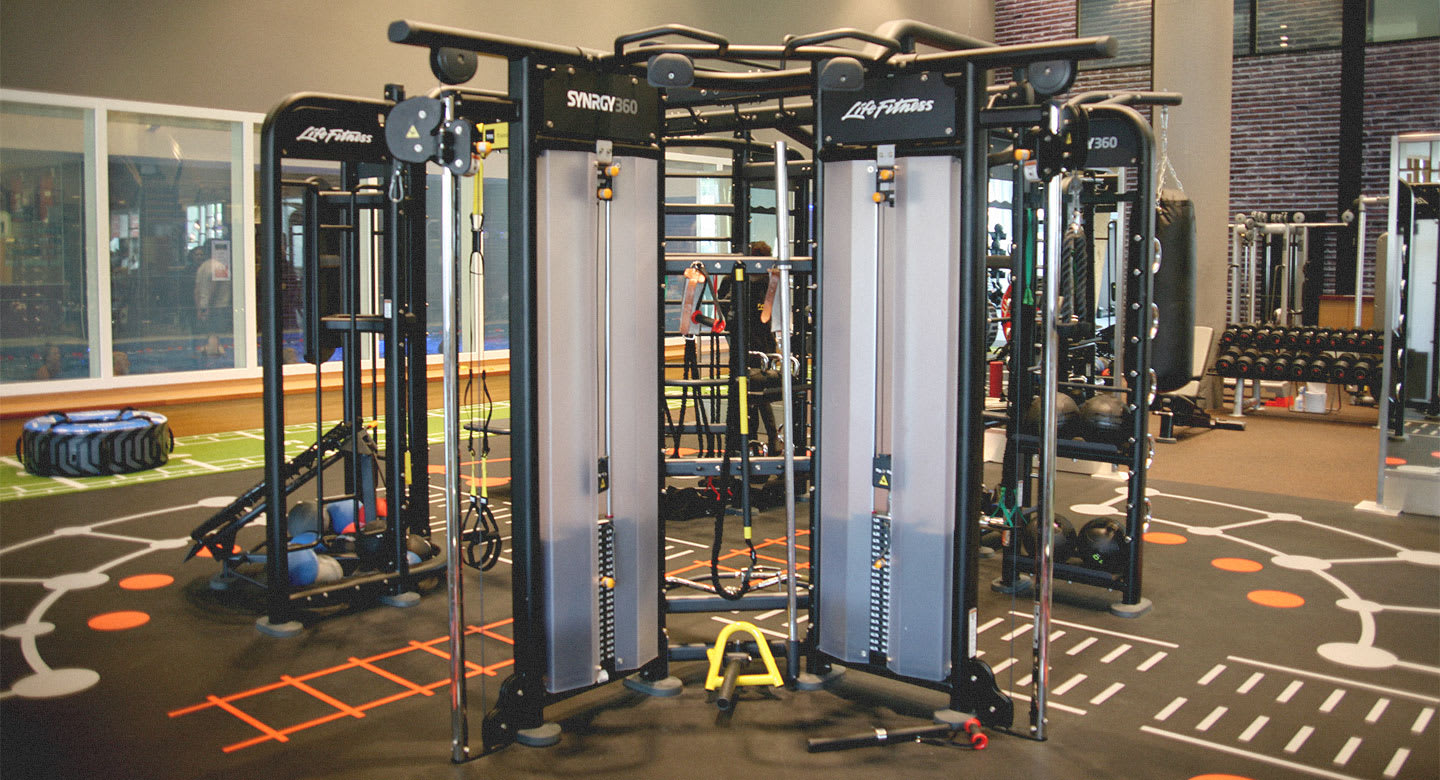 Image of the Synrgy360 area at David Lloyd Amsterdam
