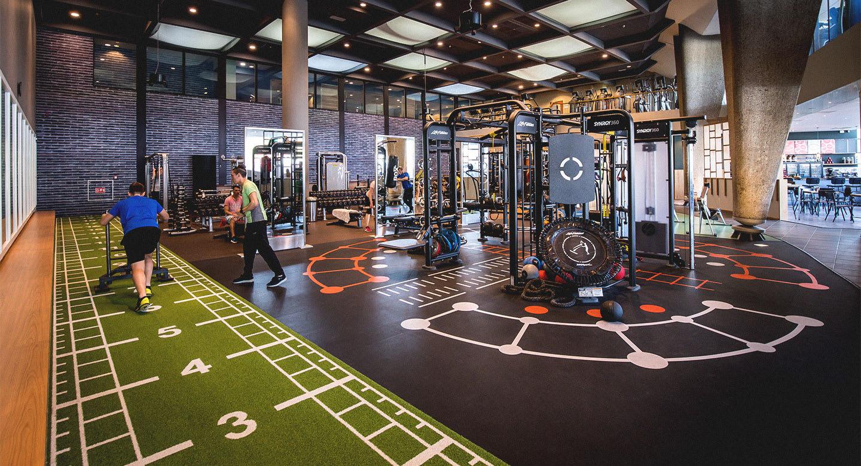 Image of the gym at David Lloyd Amsterdam