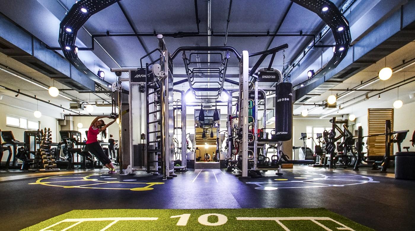 Image of gym at David Lloyd Bad Homburg