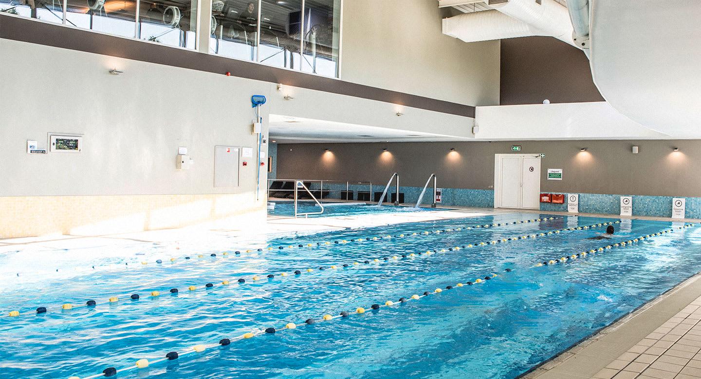 Image of the pool at David Lloyd Rotterdam Blijdorp