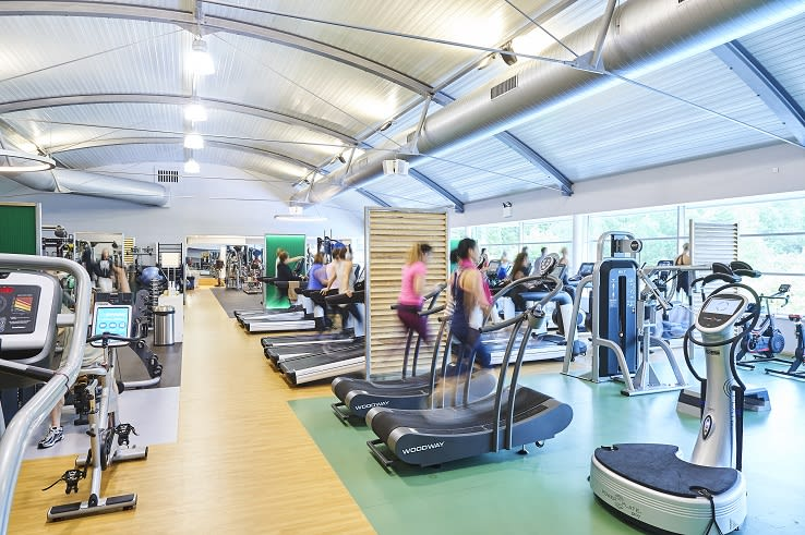 Image of a gym floor class taking place at David Lloyd