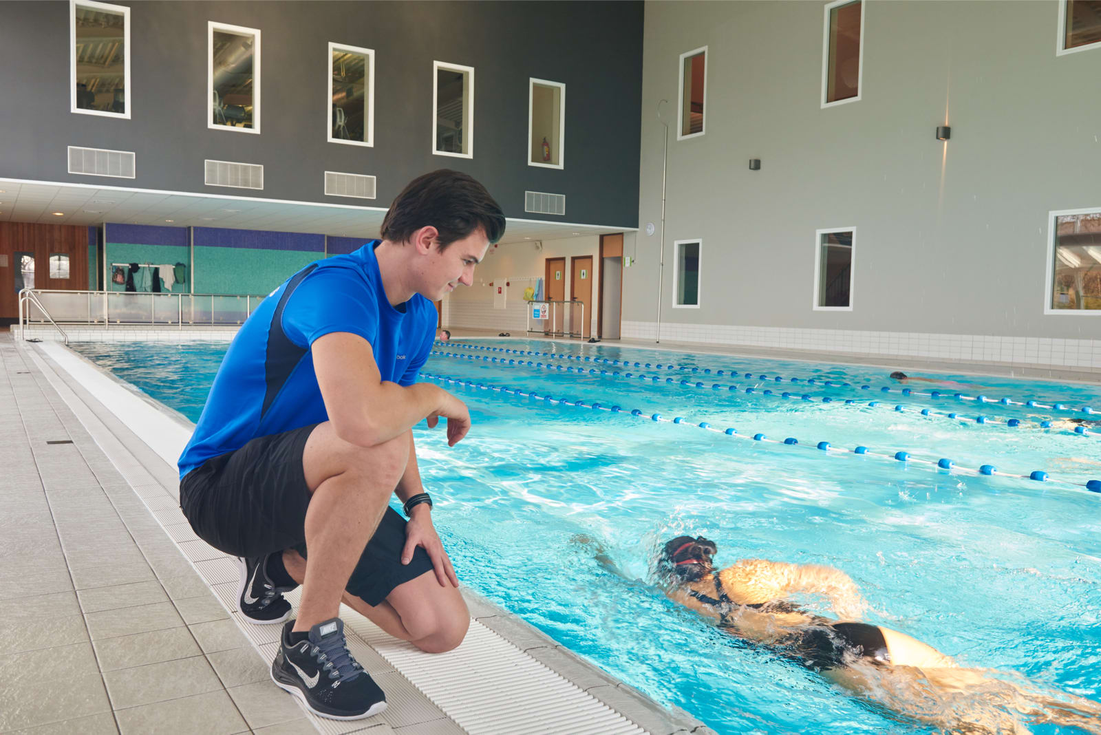 Image of the pool at David Lloyd Eindhoven