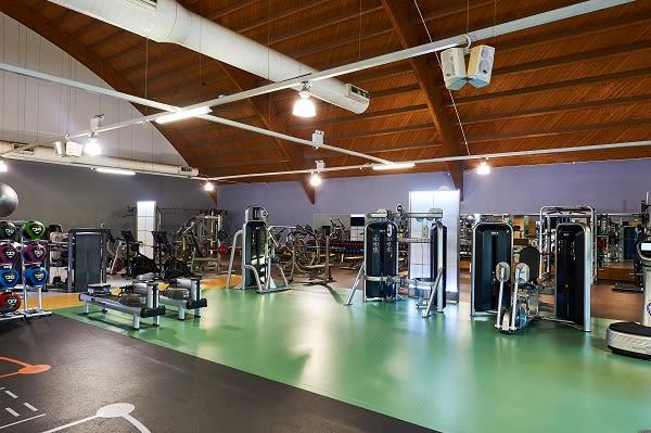 Gym floor facilities at David Lloyd Heston