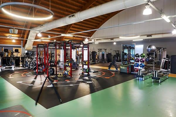 Synrgy 360 Gym facilities at David Lloyd Heston