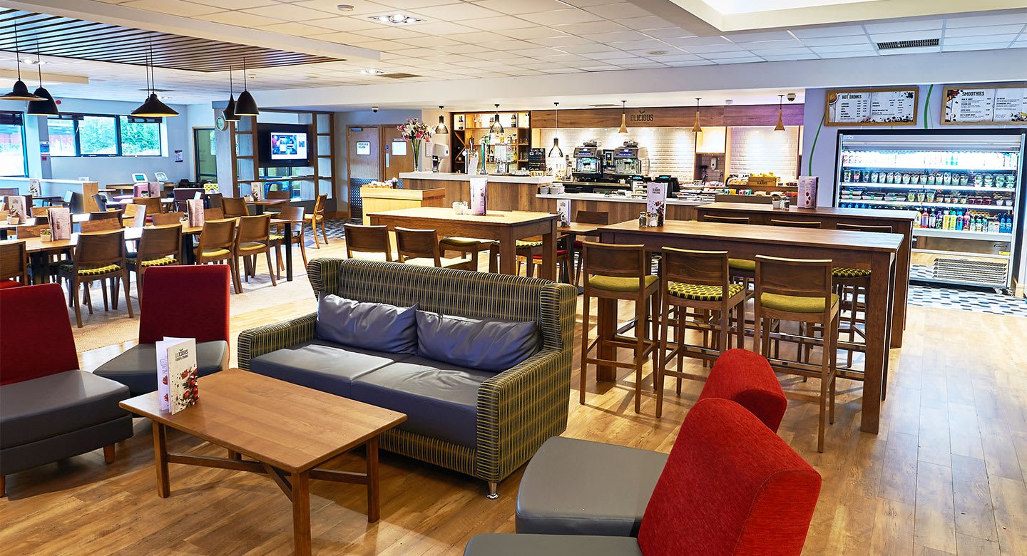Restaurant and Relaxation space at David Lloyd Heston