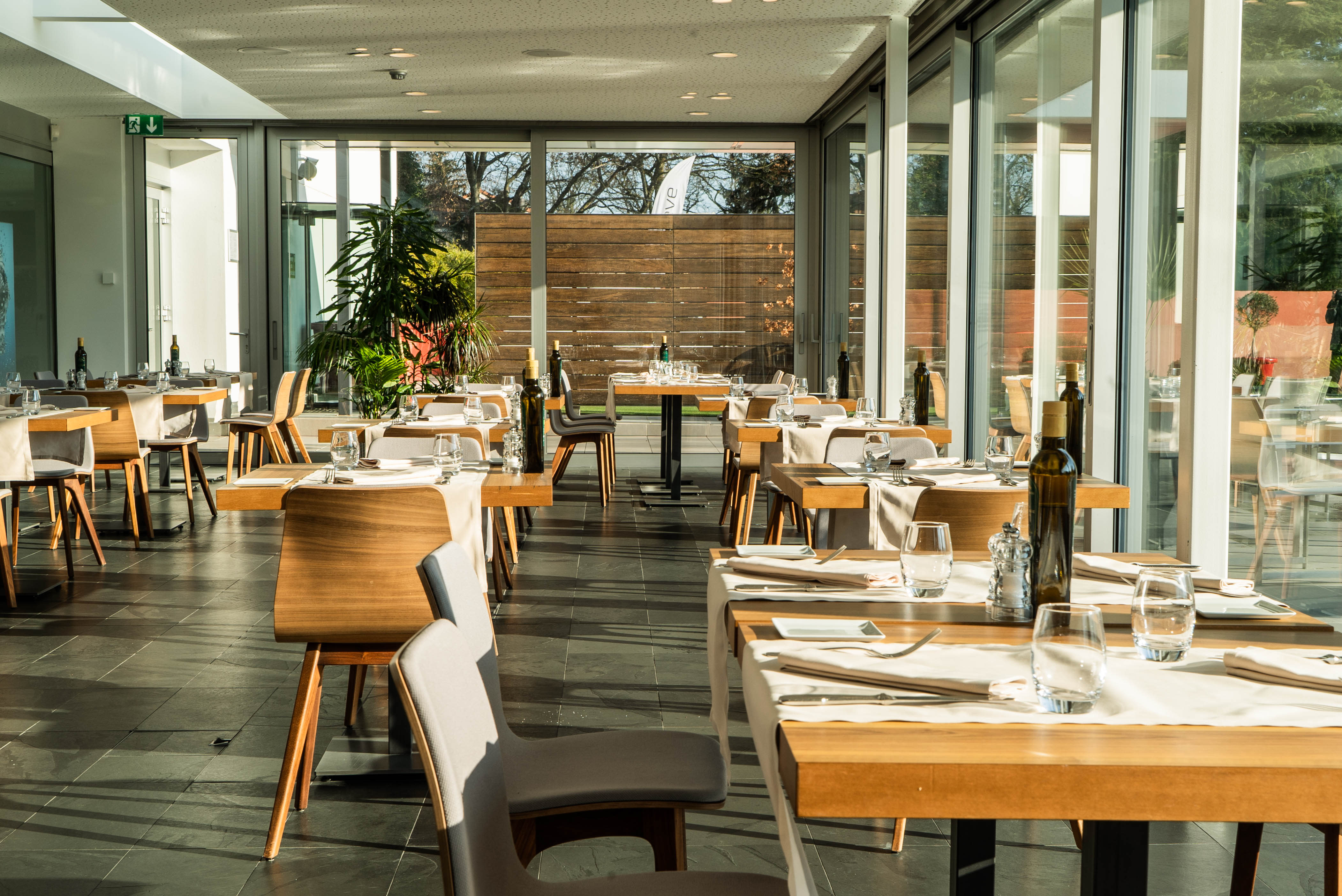 Restaurant Le Country au Country Club Geneva.