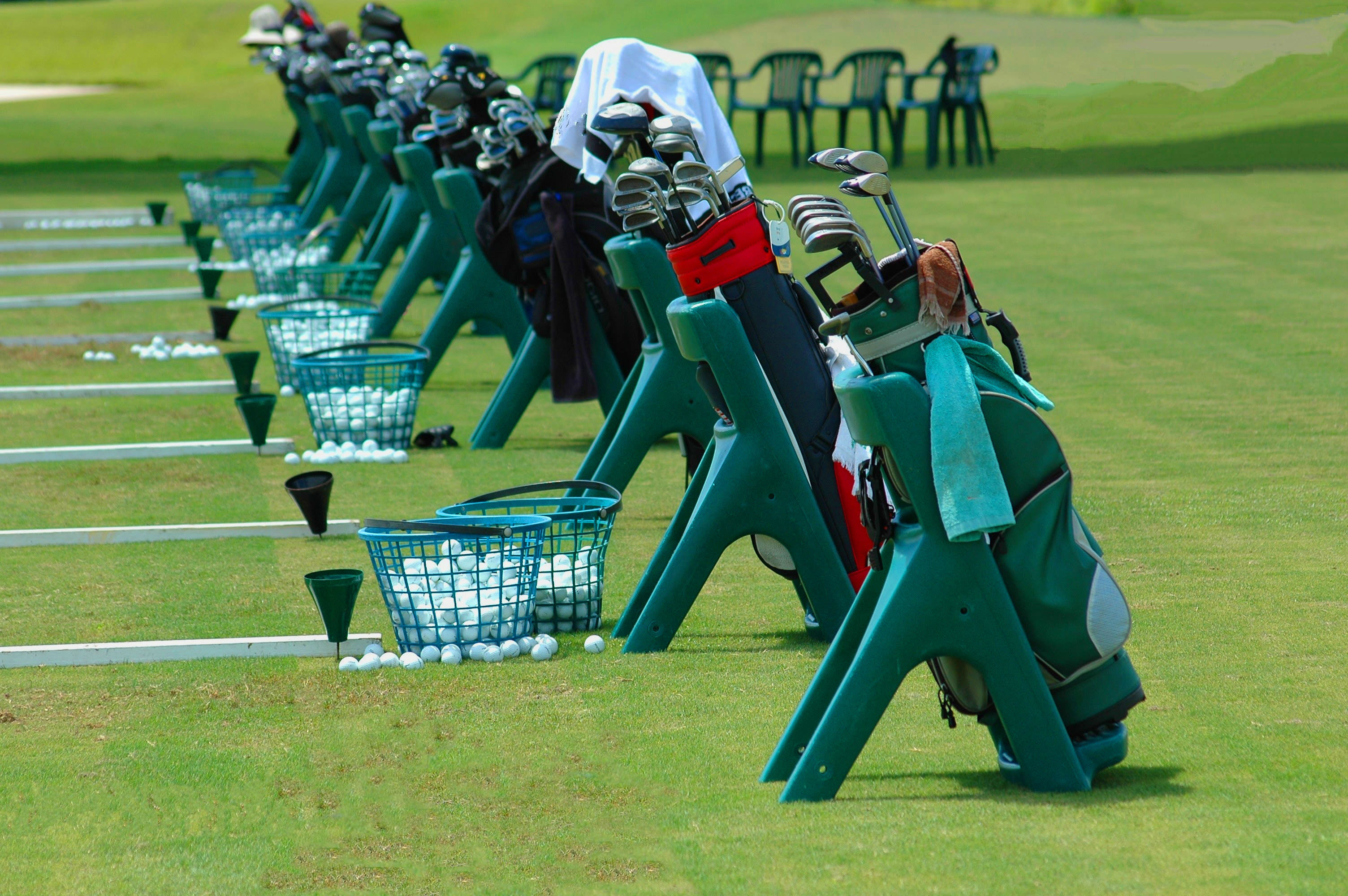 Golf lessons at Hampton