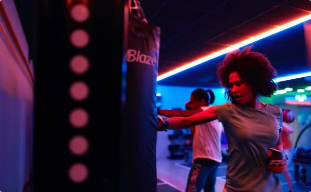 Blaze boxing