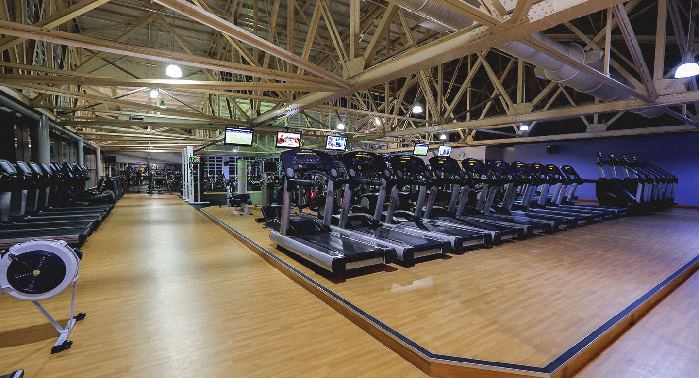 A spread of the state of the art gym equipment available at Liverpool Speke