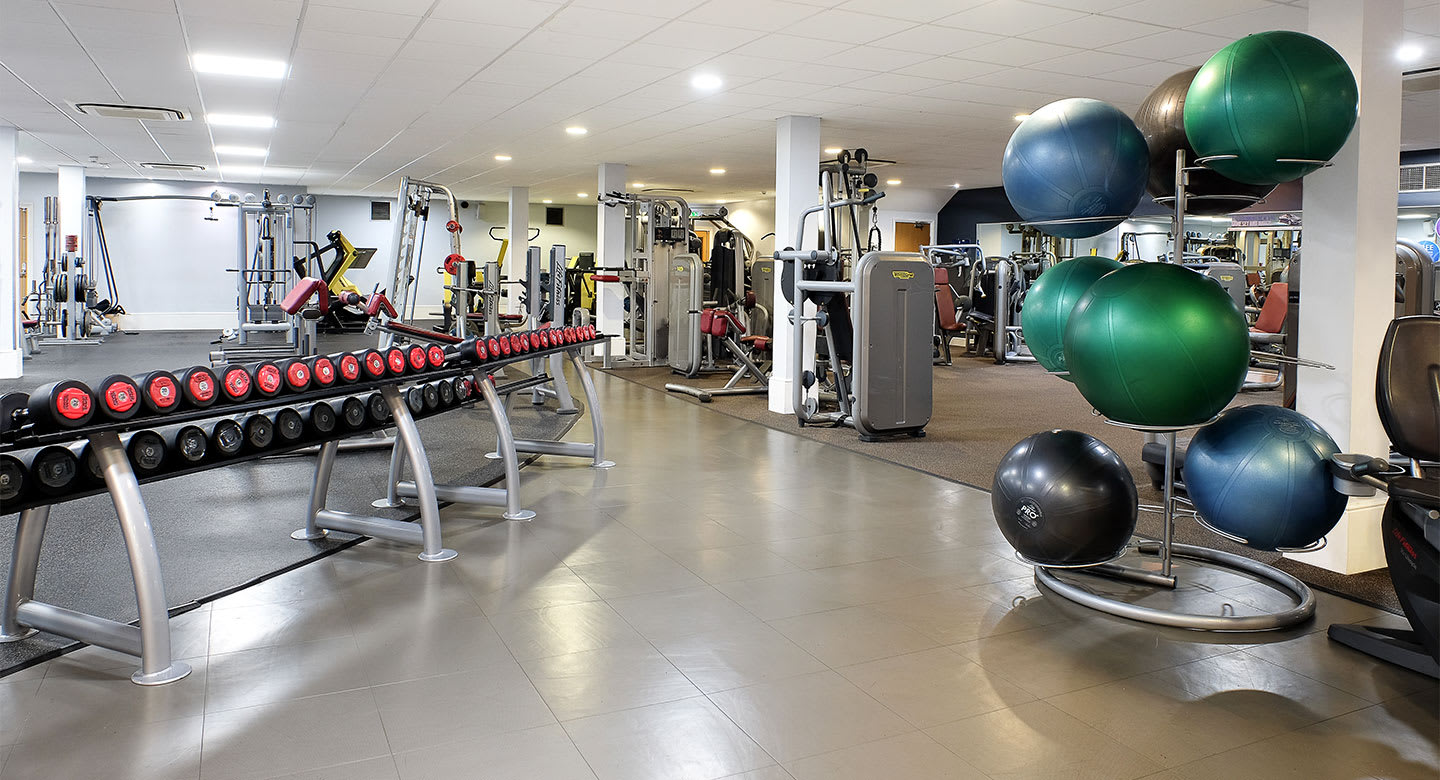 A spread of the state of the art gym equipment available at Newcastle