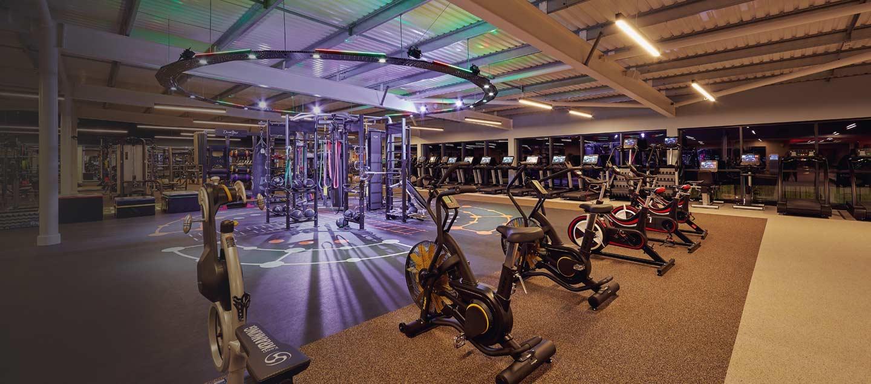 Image of gym at David Lloyd Clubs