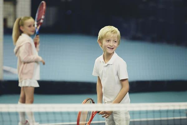 Tennis coaching at Harbour Club