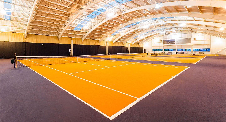 David Lloyd Ipswich tennis court