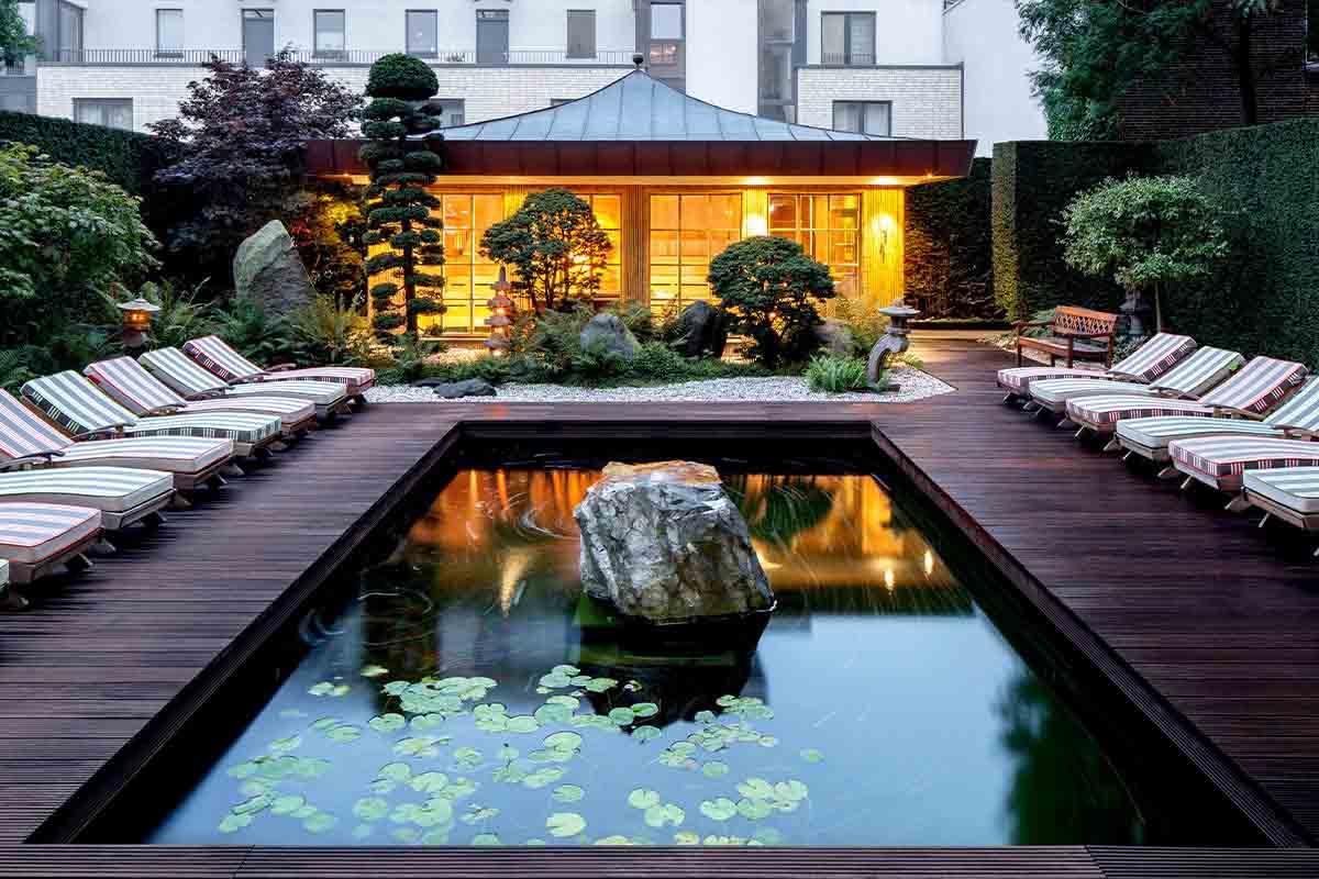 ZEN Garten im Meridian Eppendorf
