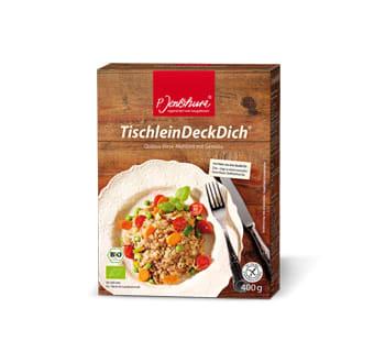 P. Jentschura Tischleindeckdich® basisches Essen im Meridian
