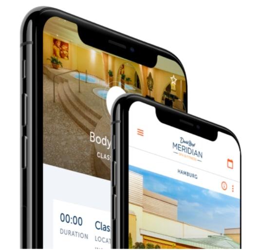 Meridian mobile app