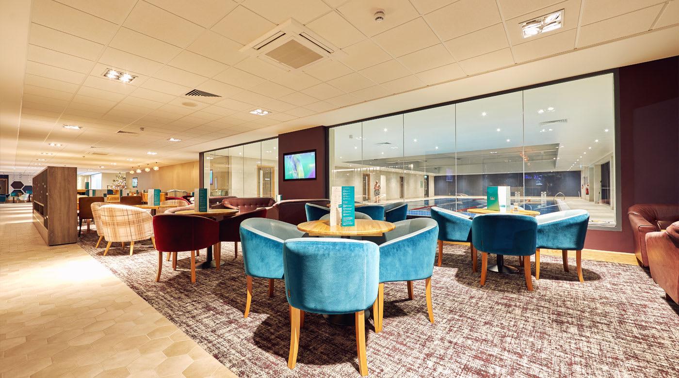 Image of David Lloyd Clubroom