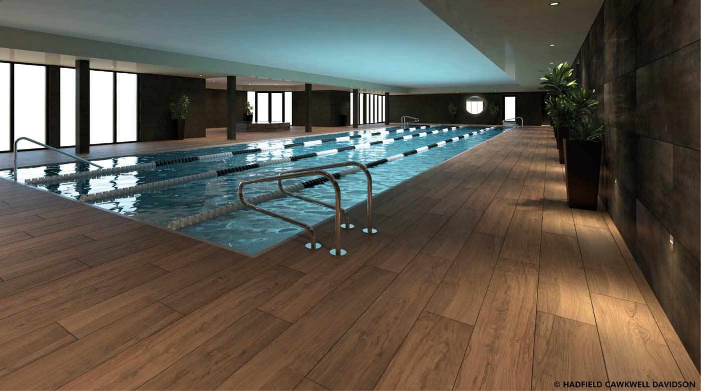 Image of indoor pool at David Lloyd Clubs