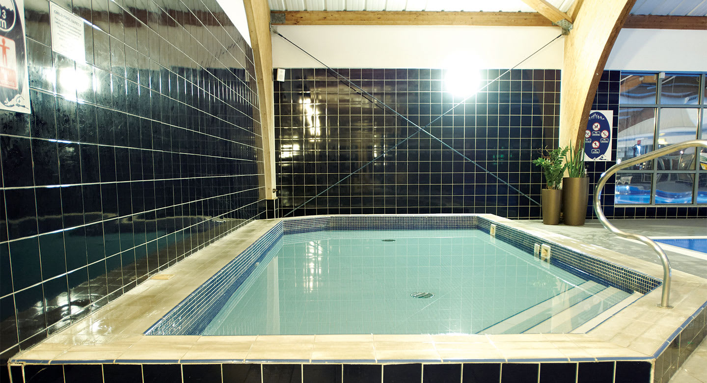 Relax in the spa at Hull