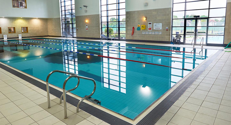 A family swim session