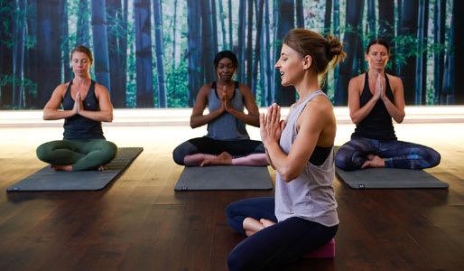 Image of yoga class
