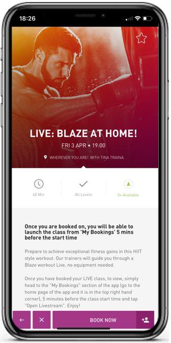blaze on mobile