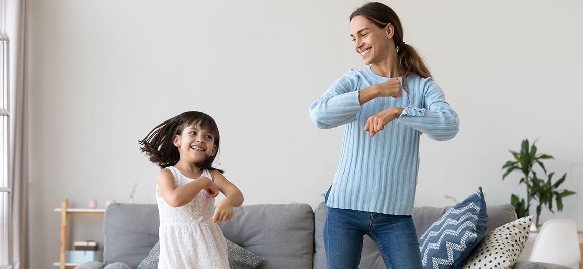 mum & daughter dance