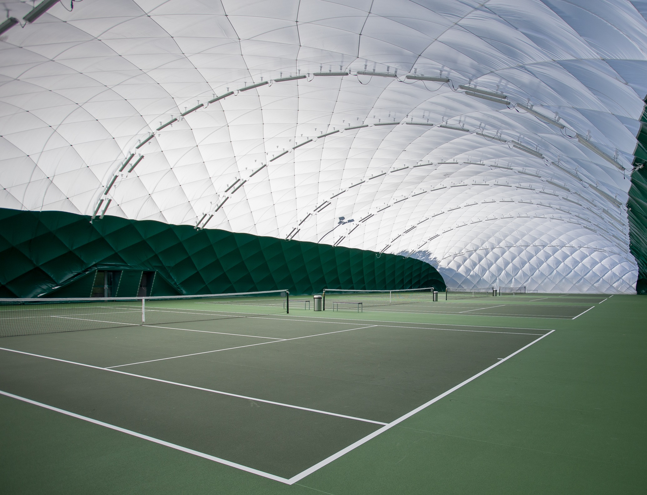 Colchester tennis domes