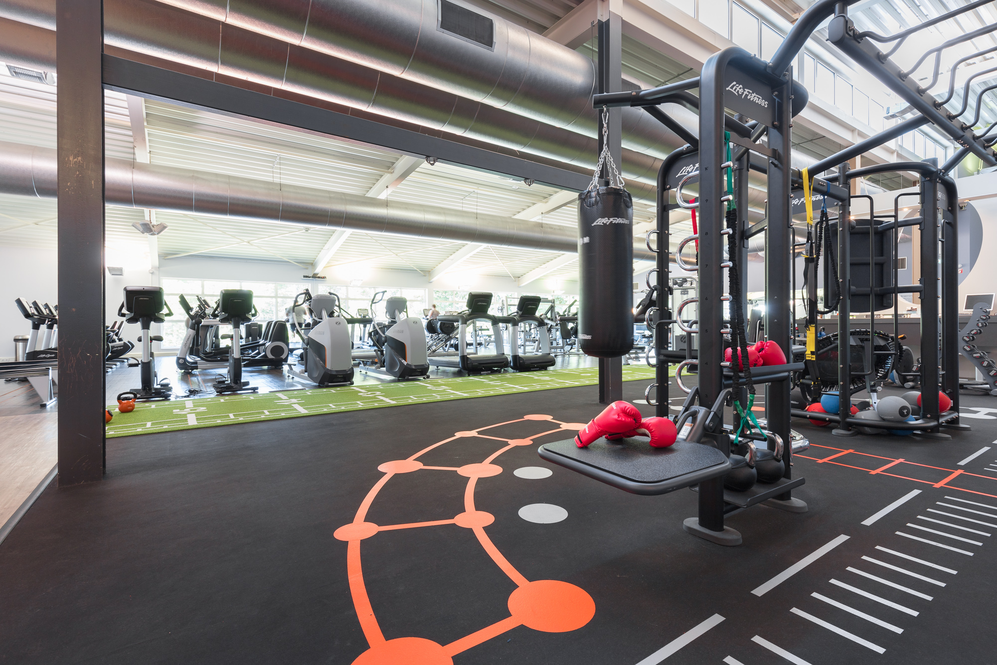 Image of Synrgy area at David Lloyd Eindhoven